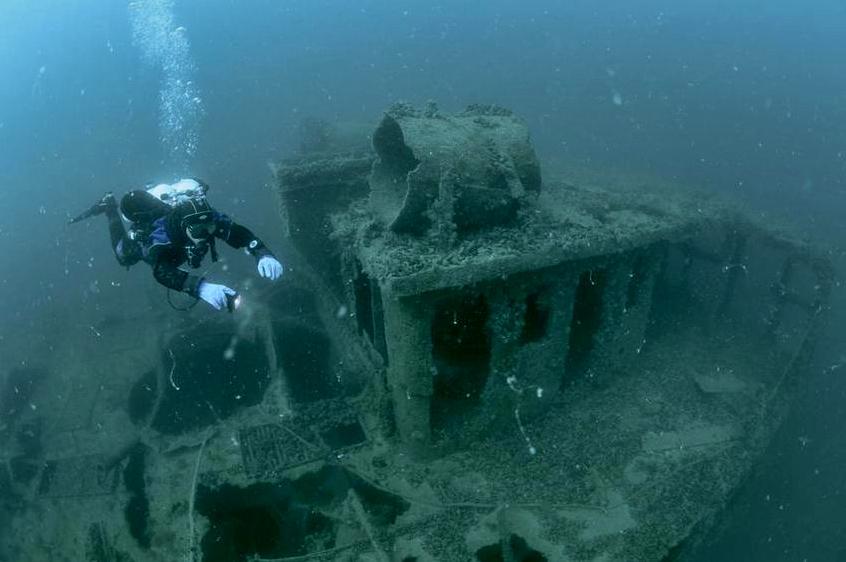 Подводные достопримечательности крыма, затонувшие корабли Че.